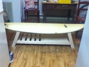 Surfboard Coffee Table (home Built!)